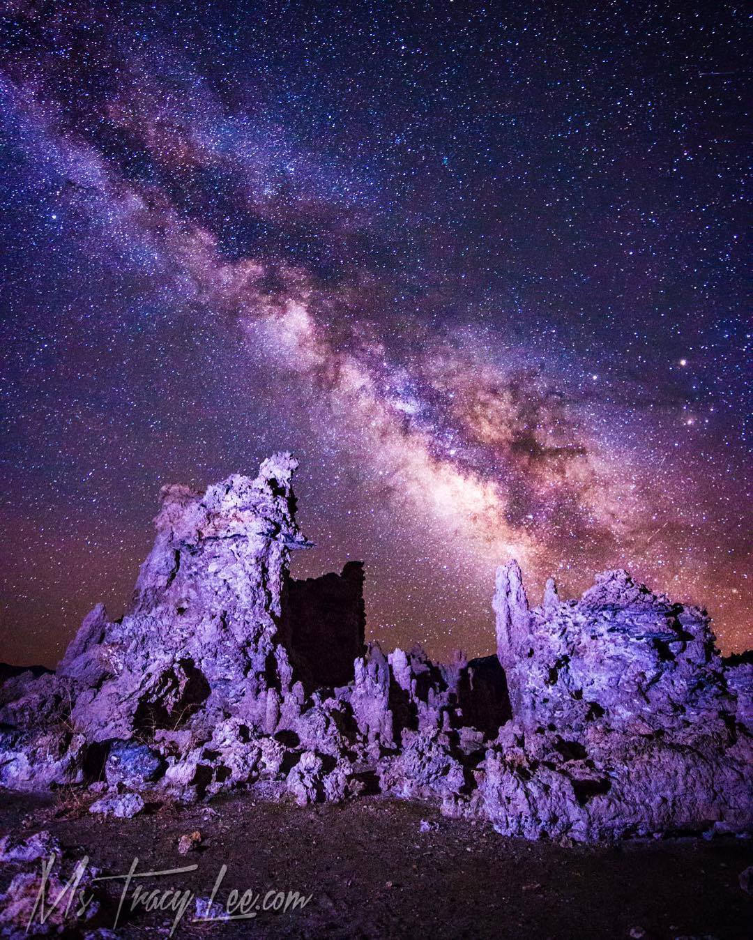 Tracy Lee at Mono Lake...