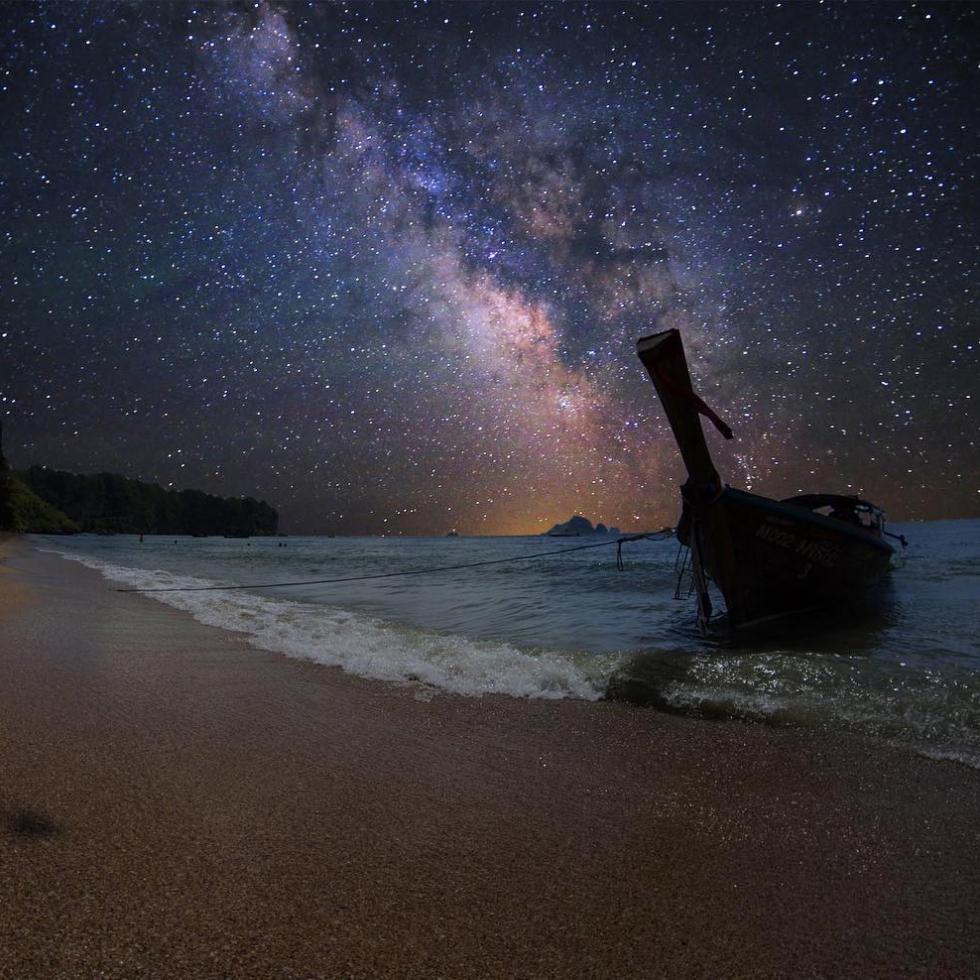 Cosmos Wesley in Krabi, Thailand...
