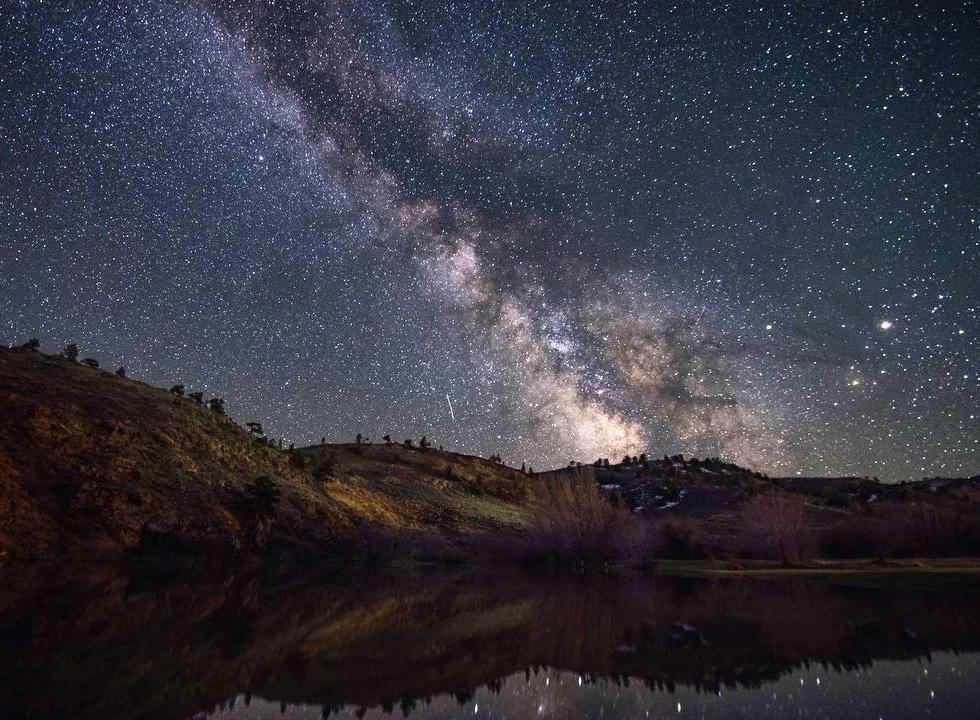 Nick Brown in Wheatland Wyoming...