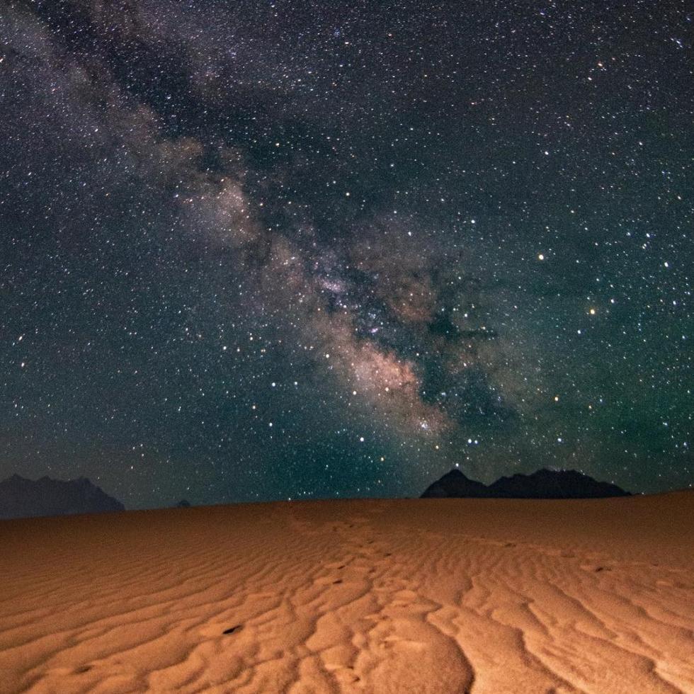 Qammer Wazir in Katpana Desert...