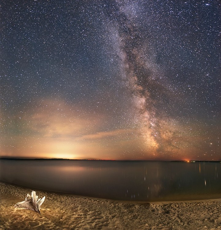 Jeff Dixon at Lake Superior...