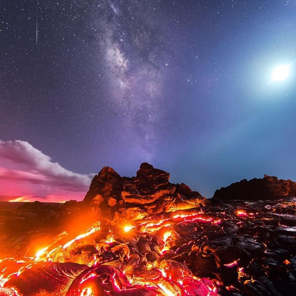 Mike Mezeul at Hawai'i Volcanoes...
