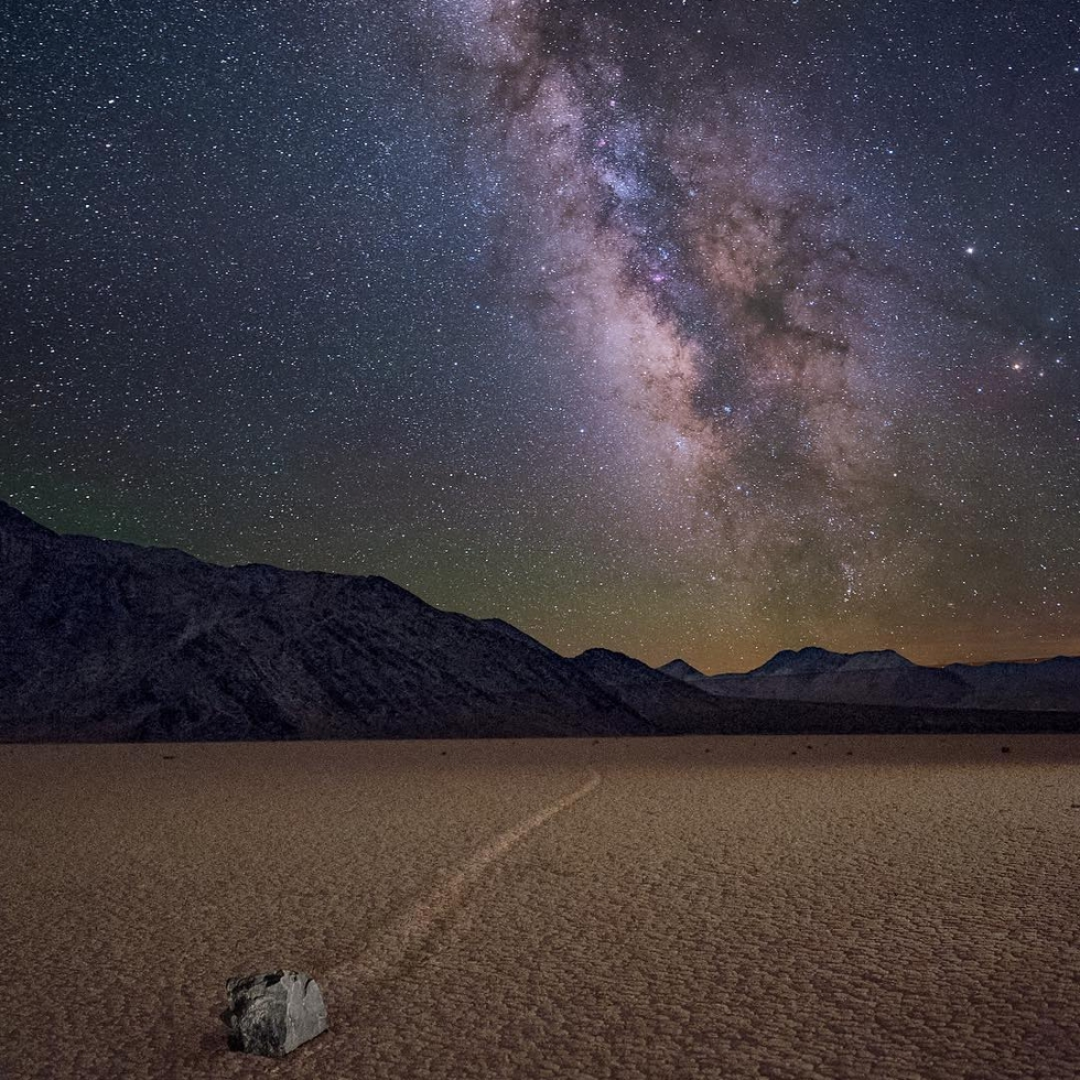 Wayne Pinkston at Racetrack Playa...