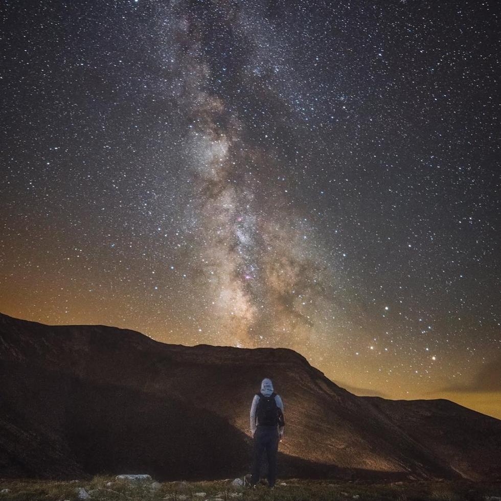 Nick Giatrakis at Mount Olympus...