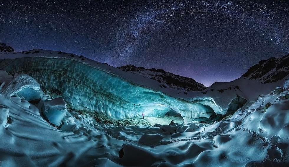 NicholasRoemmelt at the Ice Caves...