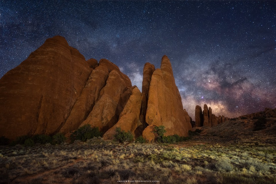 Joshua Snow at Arches National...