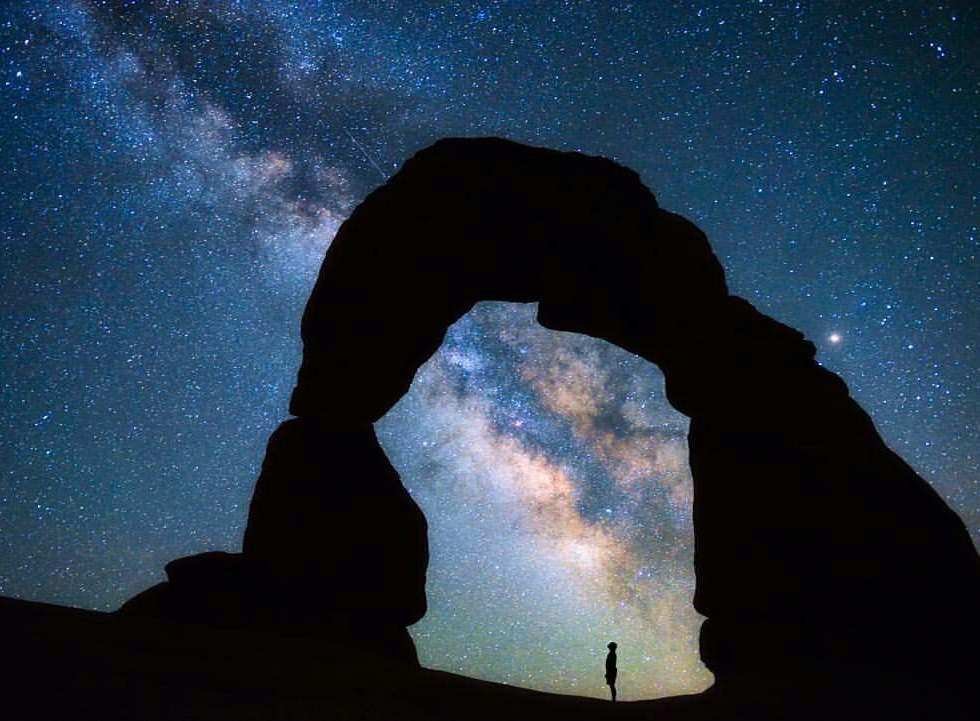 Christian Nielson at Delicate Arch...