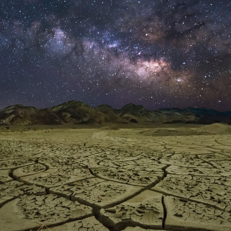 Ross Thompson in Death Valley...