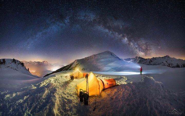 Nicholas Roemmelt in the Tyrolean...