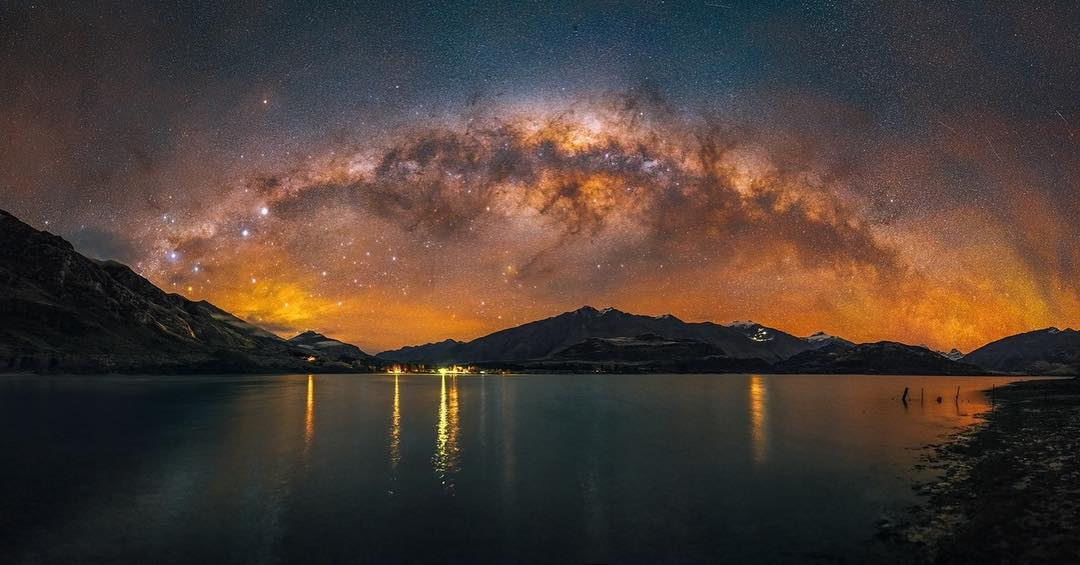 Paul Wilson at Lake Wanaka...