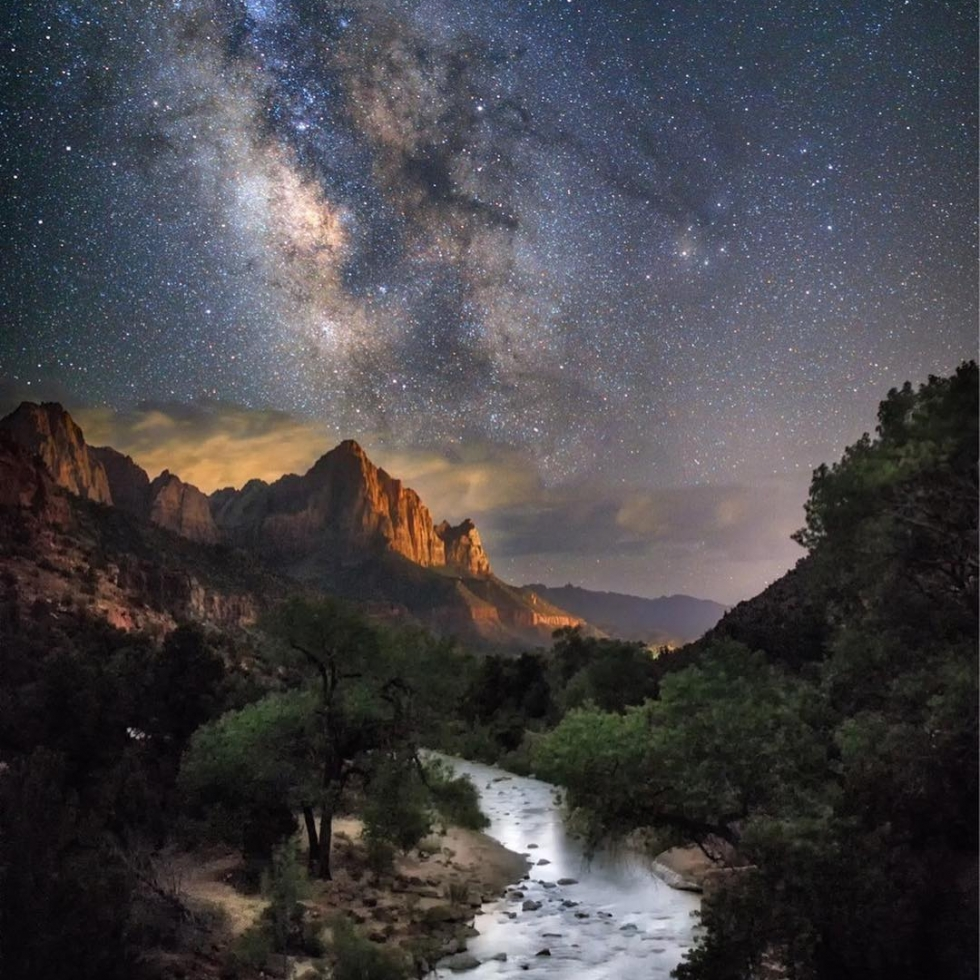 Jeremy Johnson in Zion National...
