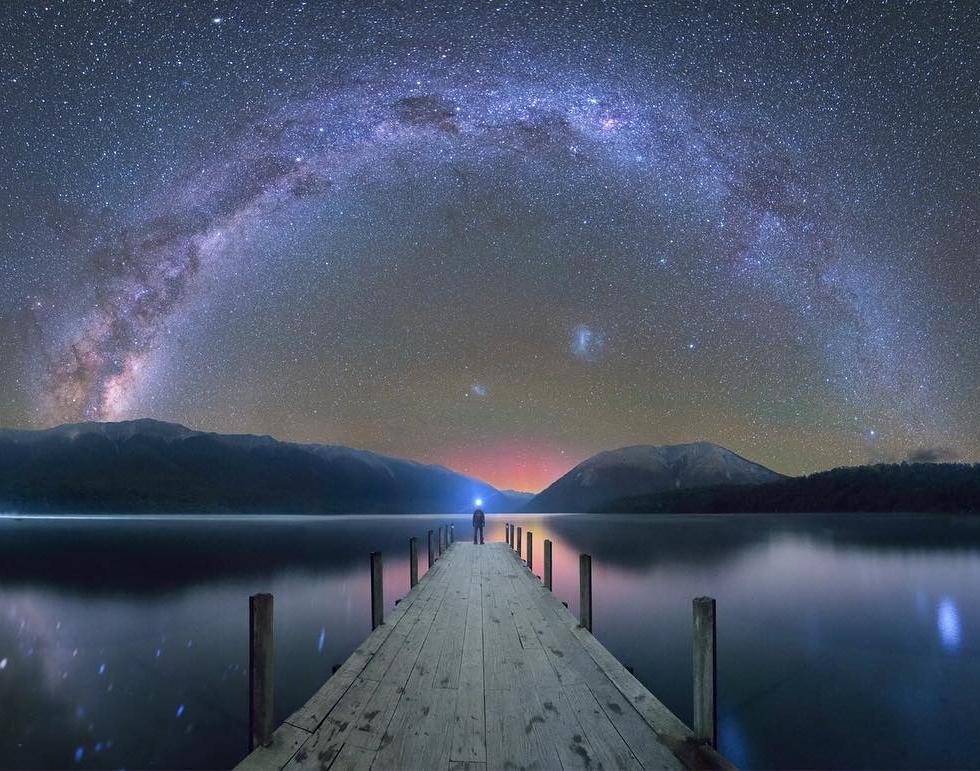 Tudo Ben at Lake Rotiti...