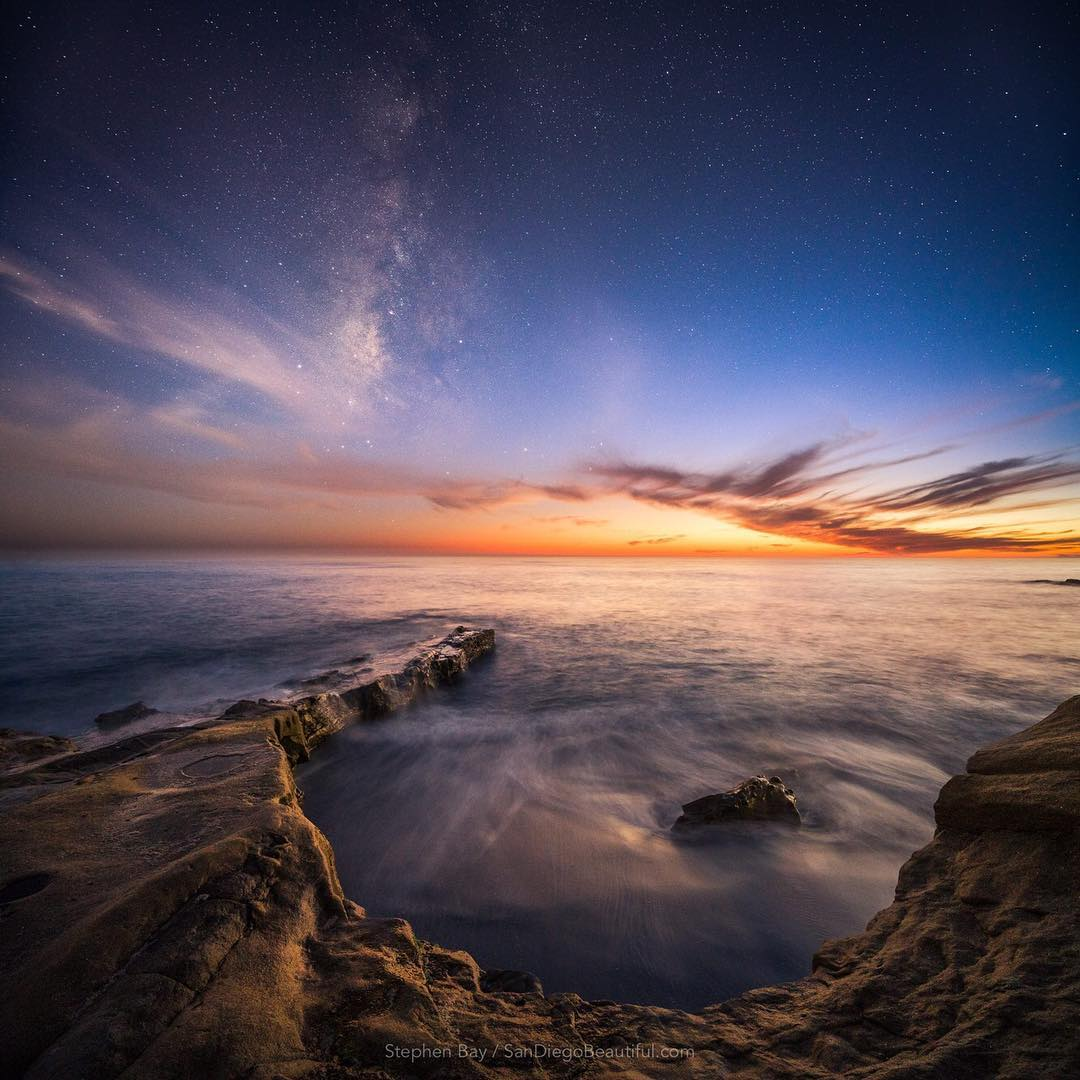 Stephen Bay in San Diego...