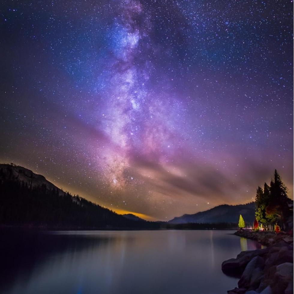 Luna LU at Tenaya Lake...