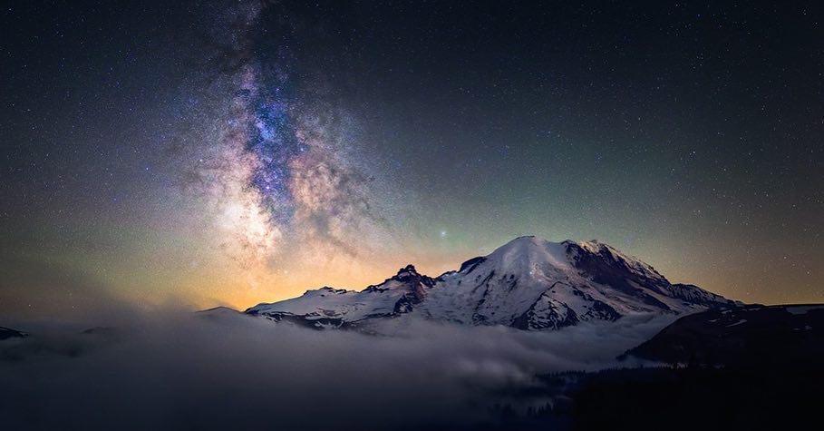 Kevin Shearer at Mt Rainier...